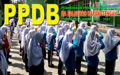 Pembukaan PPDB Tahun  2020/2021